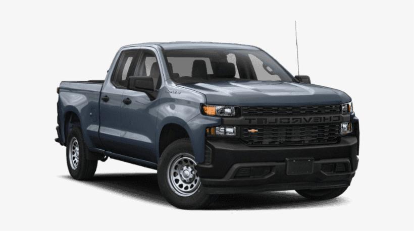 New 2019 Chevrolet Silverado 1500 4wd Double Cab 147 - 2019 Chevrolet Silverado 1500 Lt, transparent png #9225239