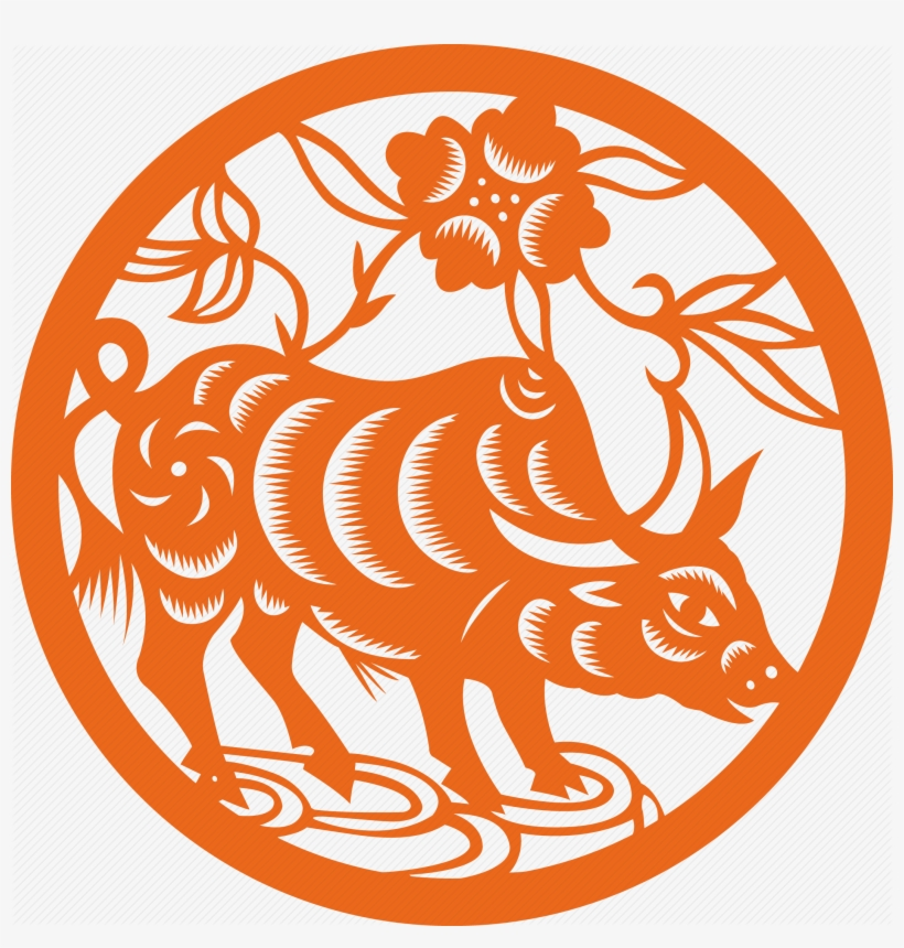 Chinese Zodiac Signs, Icon Set, Icon Design, Horoscope, - Ox Chinese Zodiac Png, transparent png #9245674