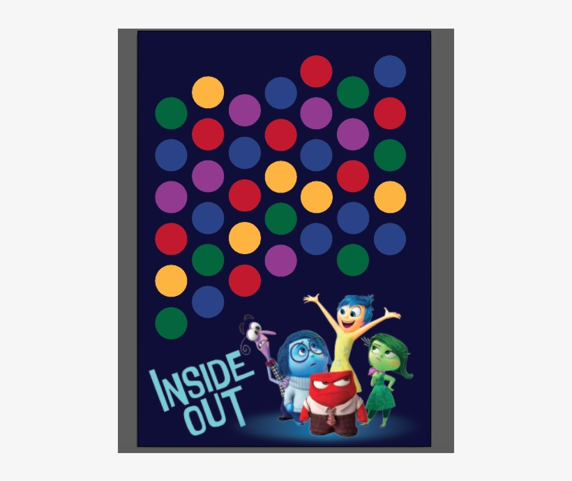 Inside Out Kids / Children's Party Customized Guest - Inside Out Birthday Tag, transparent png #9246824