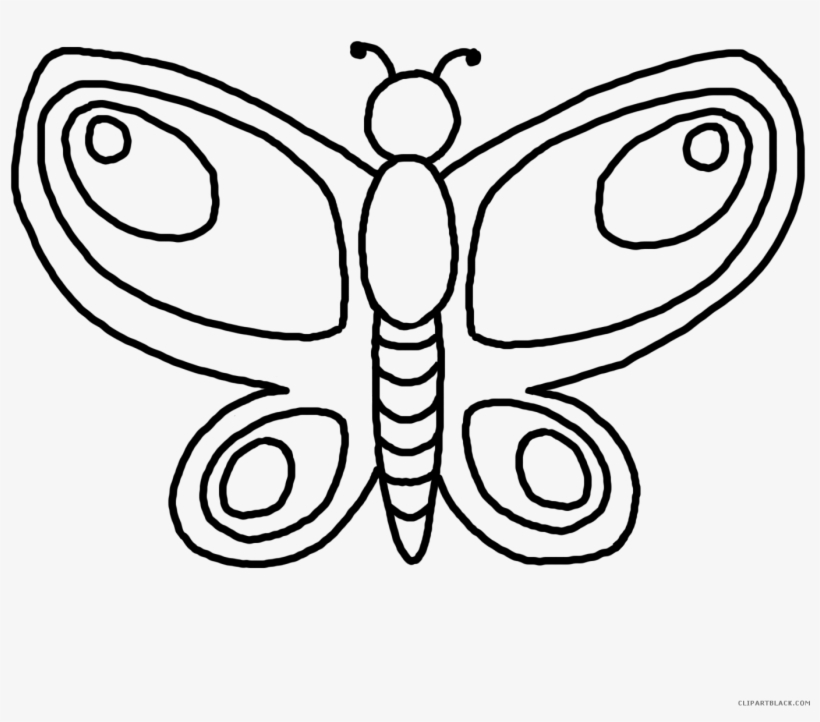 Kiss Butterfly Drawing Clip Art Outline 5b5b303e806e69