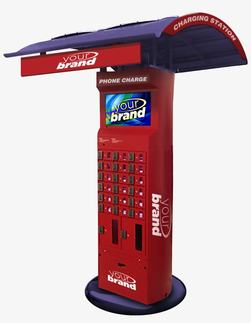 Cell Phone Lockers - Cell Phone Charger Locker Stations, transparent png #9251731