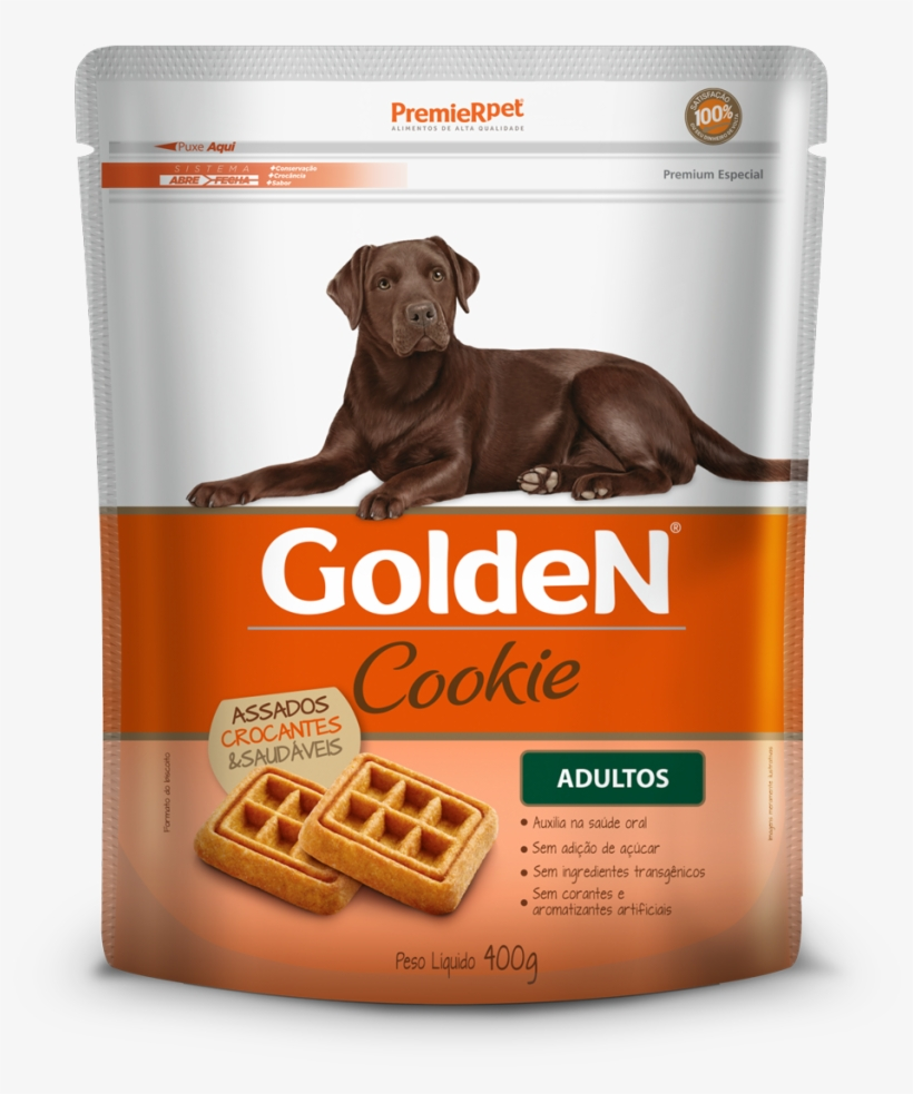 Golden Cookie Cães Adultos - Golden Cookie Adulto Pequeno Porte, transparent png #9262700