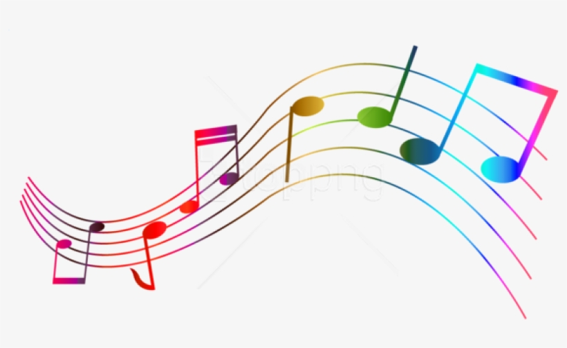 Free Png Download Transparent Colorful Notes Png Images - Colourful Musical Notes Clip Art, transparent png #9264673