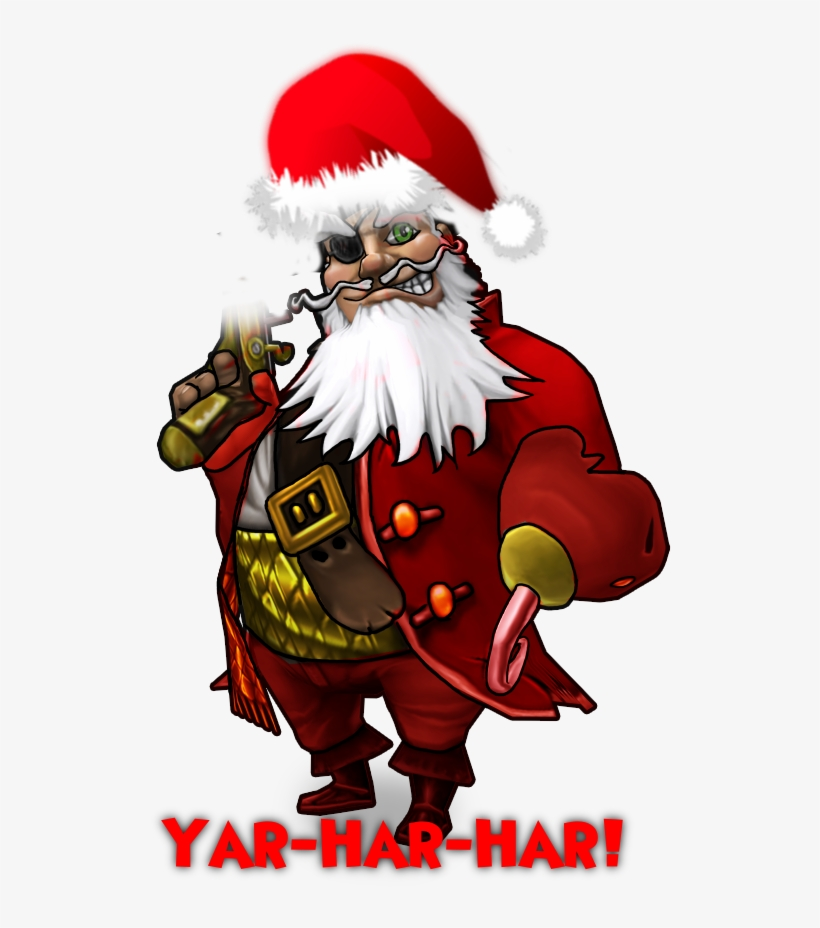 I May Be Wrong But If You Change The Pirate Gear And - Pirate Santa