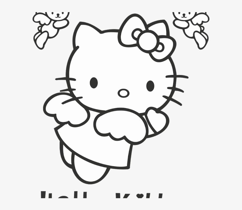 Hello Kitty Logo Vector Fictional Character Format Angel Hello