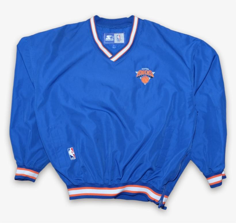 Vintage Starter New York Knicks Windbreaker Vintage - Sports Jersey, transparent png #9293697