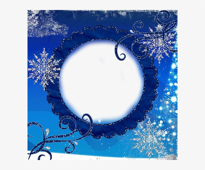 Transparent Snowflake Elegant Frames - Winter Photo Frames Transparent, transparent png #930439