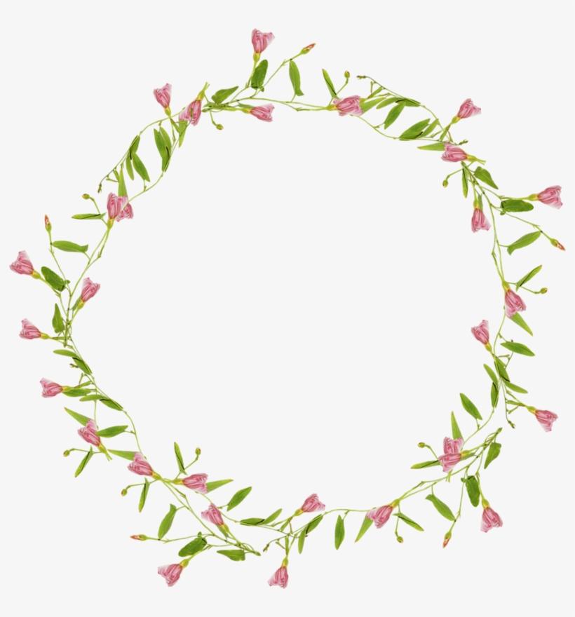 Flower Circle Purple Clip Art - Flower Circle Border Png, transparent png #932157