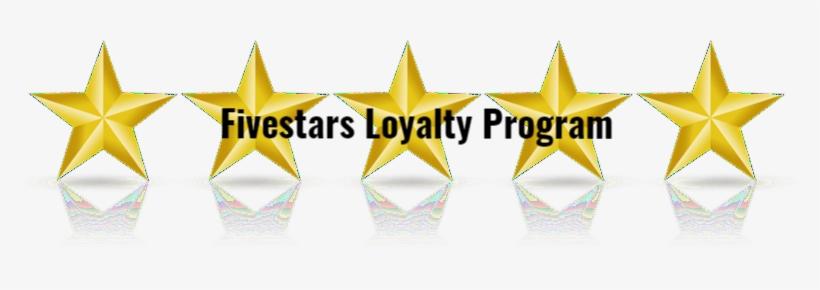 Fivestars Loyalty Program - Five Stars Clipart, transparent png #932213