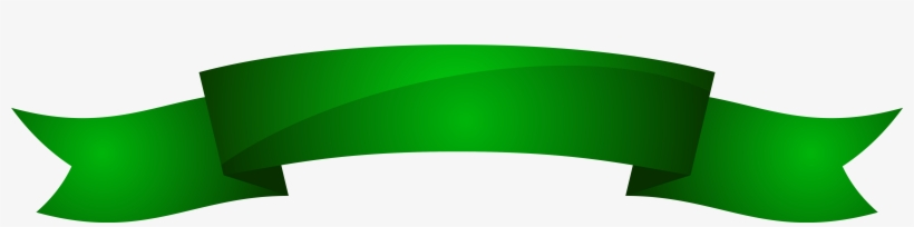 Green Ribbon Banner Png, transparent png #933281