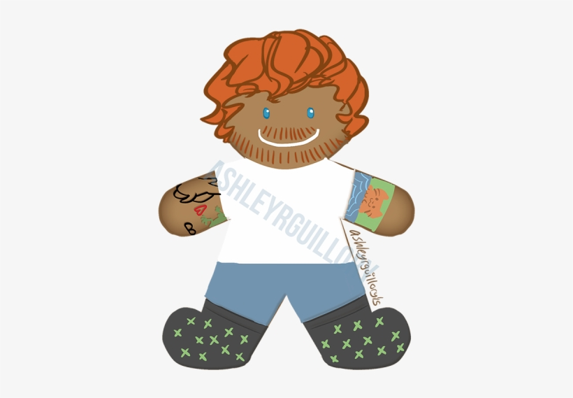 Ginger Bread Sheeran Ed Breed - The Gingerbread Man, transparent png #933907