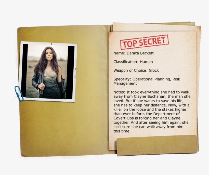 Top Secret Folder Png - Ultimate Agent: Volume 1 (the Ua Series), transparent png #934164