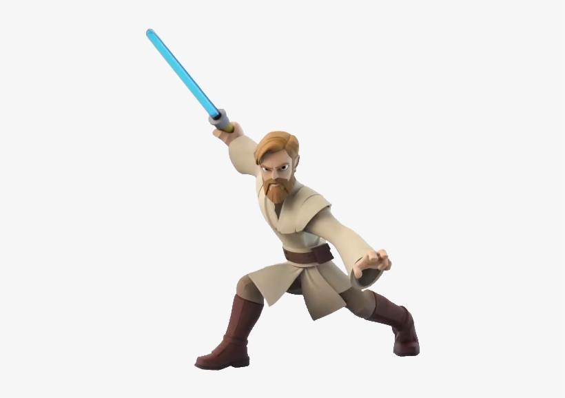 Obi-wan Disney Infinity - Disney Infinity Star Wars Obi Wan, transparent png #935262