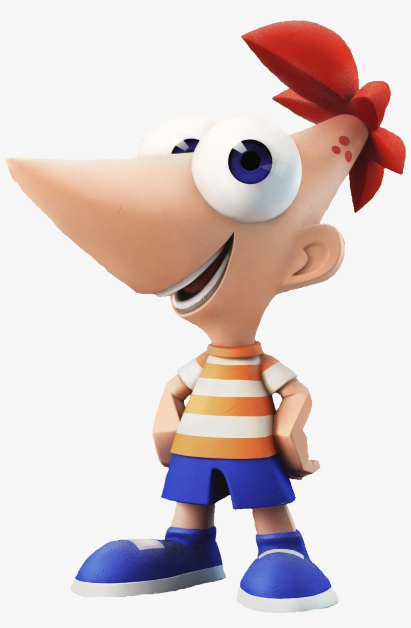 Phineas Flynn - Disney Infinity Phineas And Ferb Toybox - Phineas, transparent png #935336
