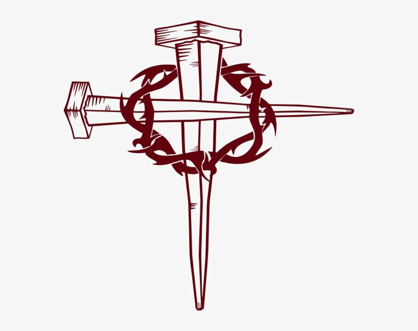 Christian Cross Download Transparent Png Image - Crown Of Thorns Cross, transparent png #936670