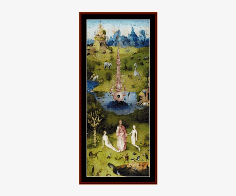 Garden Of Earthly Delights - Bosch Garden Of Earthly Delights, transparent png #937053