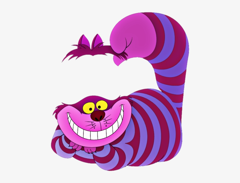 Cheshire Cat Png Photo - Alice In Wonderland Cheshire Cat Icon, transparent png #938265