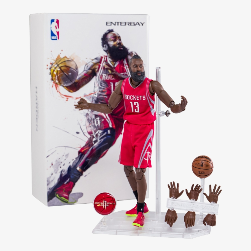 Enterbay Soldier Model 1/9 Blue Ball Star Hand Can - James Harden Enterbay, transparent png #938387