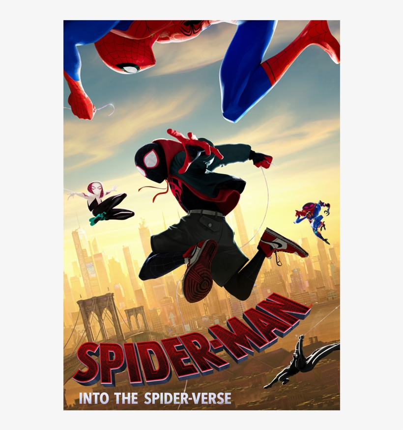 We Have Cool 'spider Man - Spider Man Into The Spider Verse Fanart Tv, transparent png #9302348