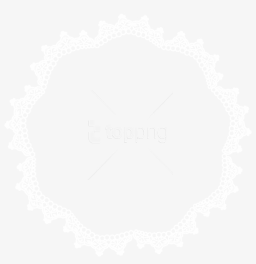 Free Png Download Round Lace Border Frame Png Clipart - Round Lace Border Png, transparent png #9306412