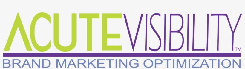 Acute Visibility Brand Marketing Optimization - Graphic Design, transparent png #9312133