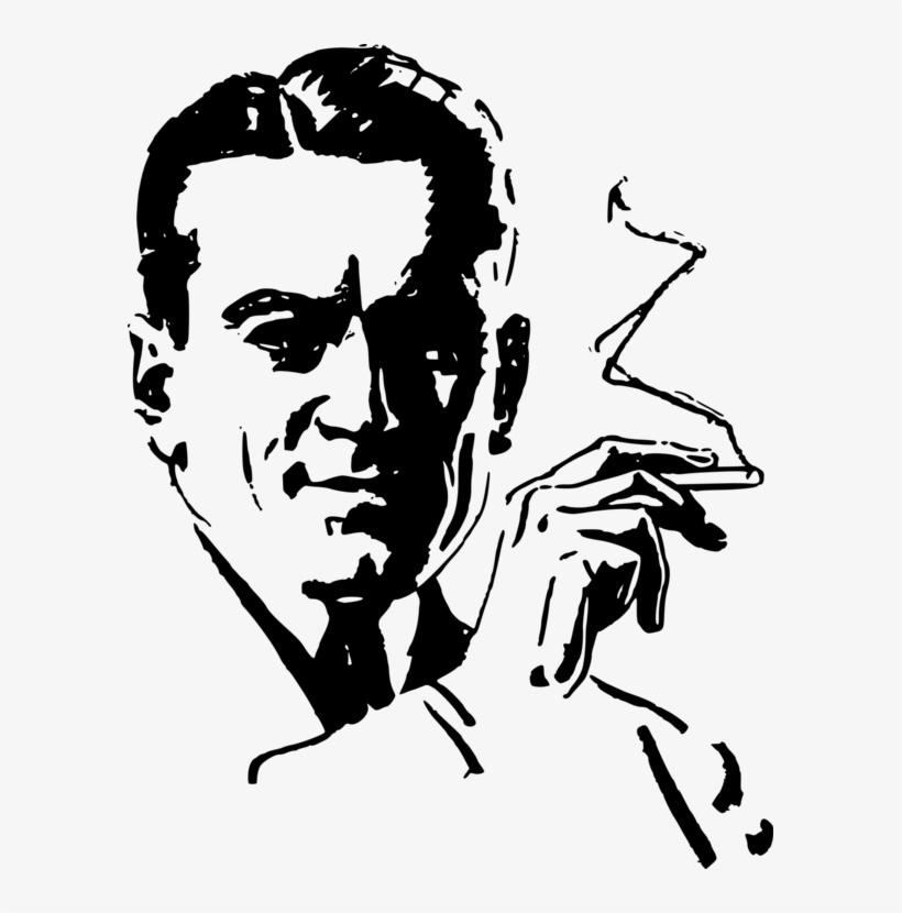 Joint Cannabis Smoking Tobacco - Smoking Man Logo Png, transparent png #9326968