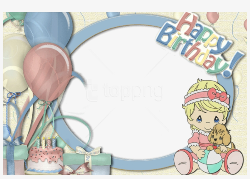 Free Png Best Stock Photos Children Transparent Frame - Backgrounds For Photoshop For Happy Birthday, transparent png #9332324