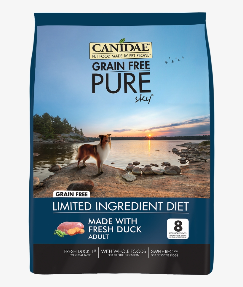 Canidae Grain Free Pure Sky With Duck Dry Dog Food - Canidae Bison Dog Food, transparent png #9334981