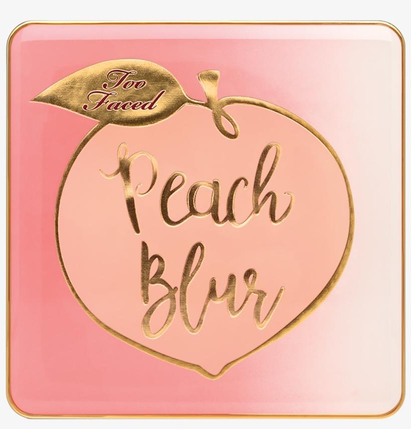 Peach Blur - Too Faced Mini Peach Blur, transparent png #9342473