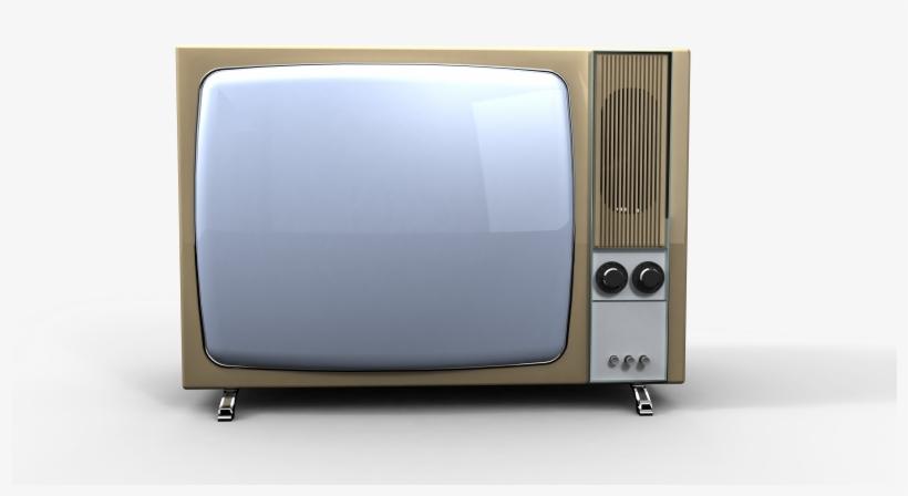 Compartir - Imagen De Una Tv Antigua, transparent png #9342860