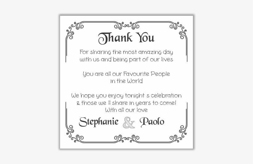 Thank You Cards- Italian Flair - Centro Comercial Sabana Norte, transparent png #9343456
