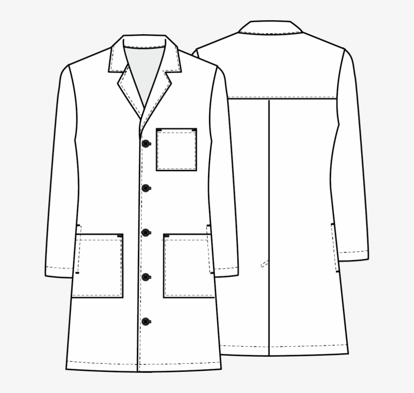 Available In Stores - Lab Coat Drawing Transparent, transparent png #9348255