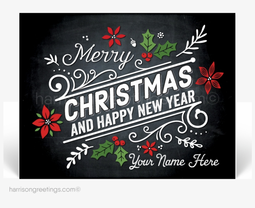Happy Holidays Postcard For Business - Merry Christmas Card Customers, transparent png #9350455