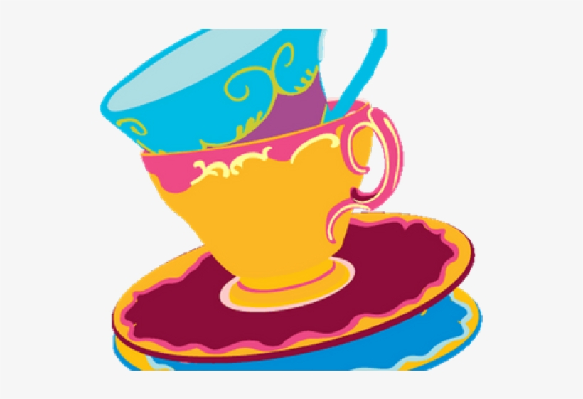 Tea Party Clipart Mad Hatter Mad Hatters Tea Party Free Transparent Png Download Pngkey