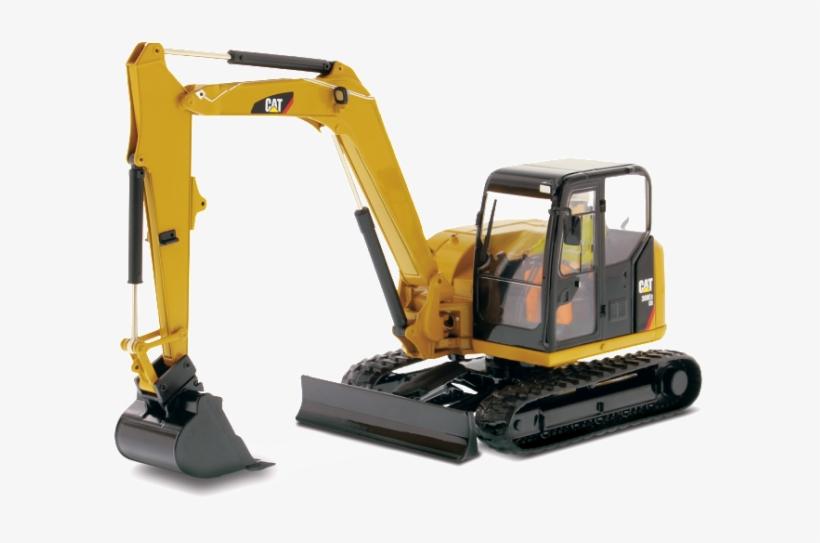Thumbnails - Diecast 1 25 Bobcat Excavator, transparent png #9356128