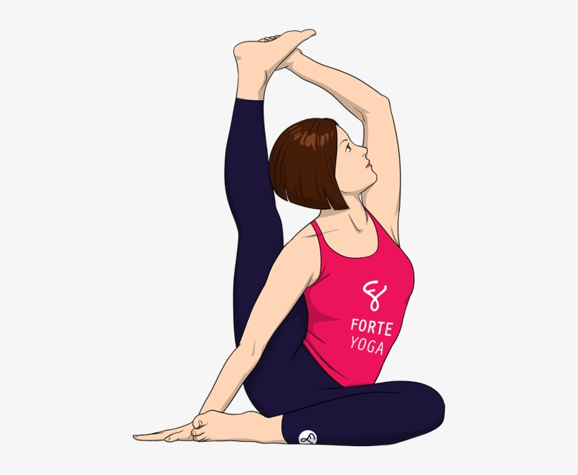 Compass Yoga Pose Advanced Seated Yoga Poses Free Transparent Png Download Pngkey