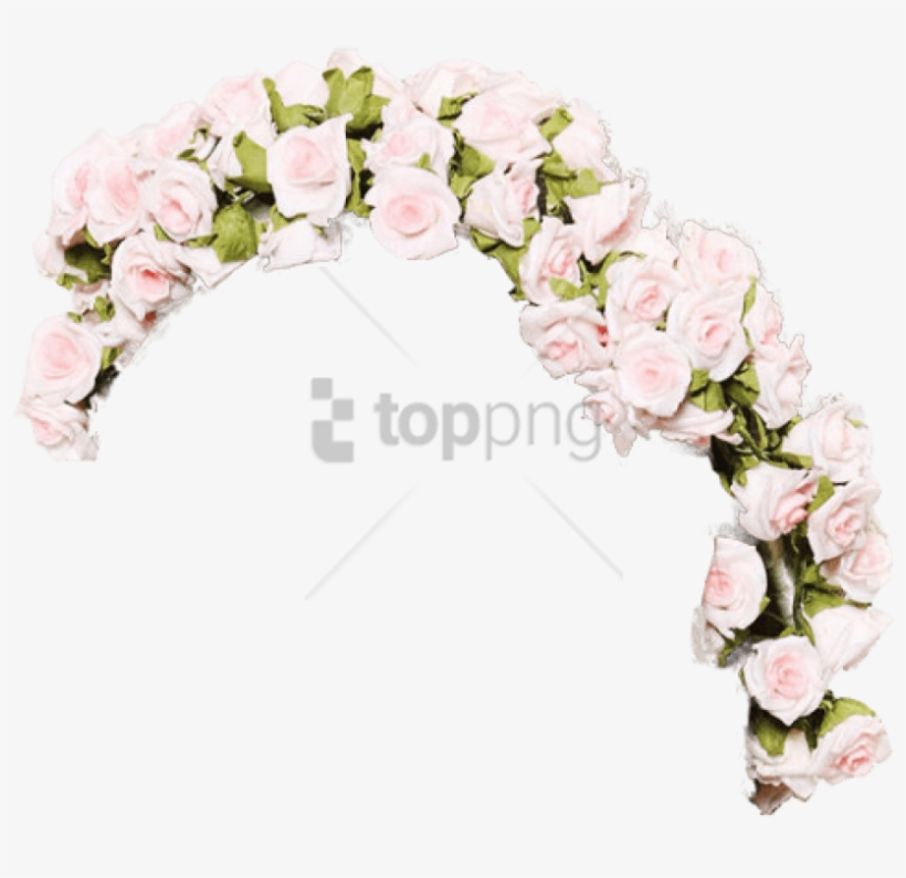 Free Png Transparent Flower Crown Tumblr Png Image - Crown Of Flowers Png, transparent png #9363139