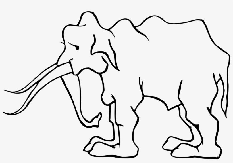 Indian Elephant African Elephant Elephants Art Mammoth - Elephant, transparent png #9375105