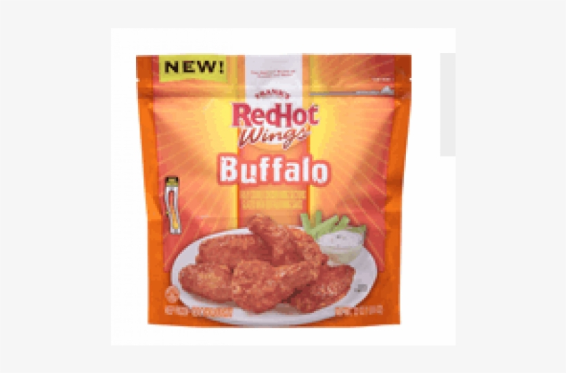 Frank's Red Hot Buffalo Wings - Franks Red Hot Frozen Wings, transparent png #9375591