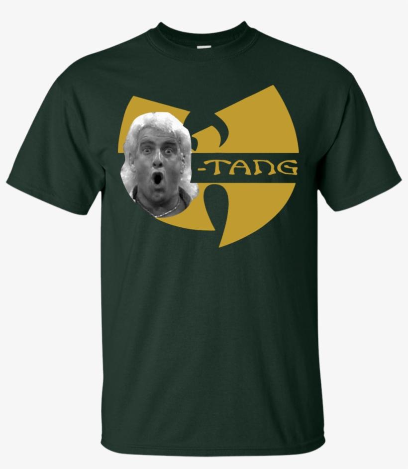 Wu-tang Shirt Rick Flair - Ric Flair Wu Tang Shirt, transparent png #9387344