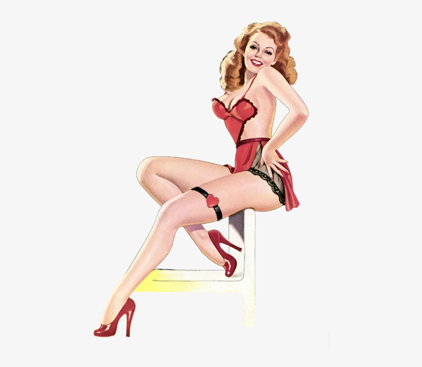 Pin Up Pictures, Pin Up Girls, Croquis, Png Format, - Sexy Png Pin Up, transparent png #9392816