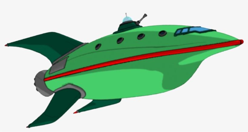 Download - Futurama Planet Express Ship Png, transparent png #9397219