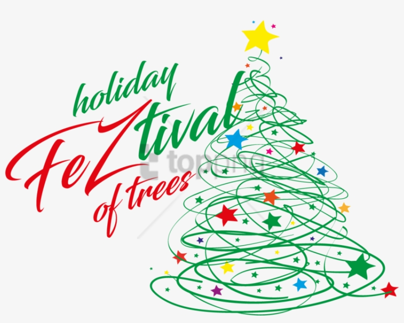 Free Png Download Creative Christmas Tree Line Art - Christmas Tree Blue Png, transparent png #9399137