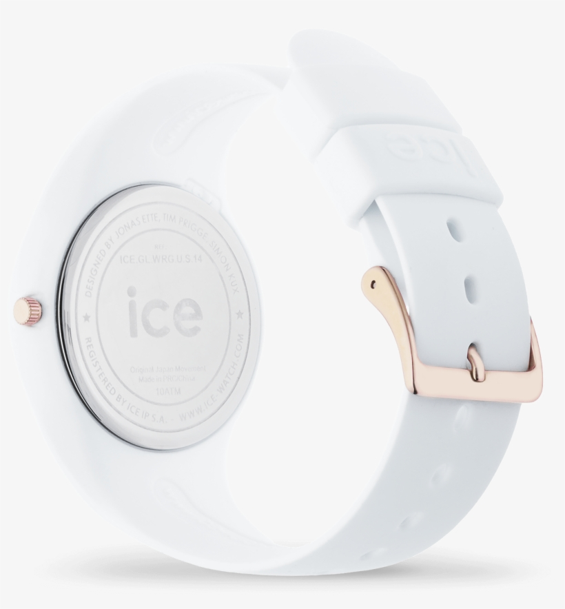 Ice Glam - White Rose-gold - Ice-watch Ice Glam, transparent png #942384