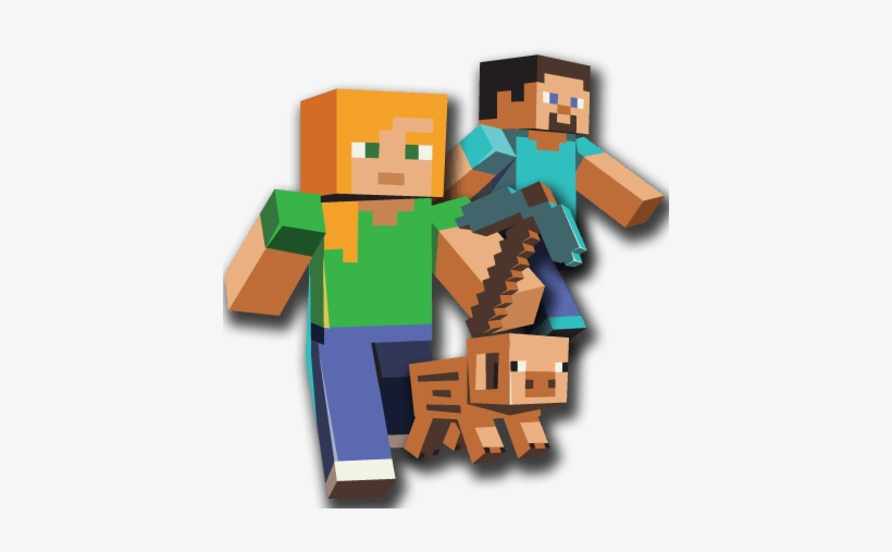 Cliparts Similar To Minecraft Clipart Video Game Character - Minecraft Png, transparent png #943001