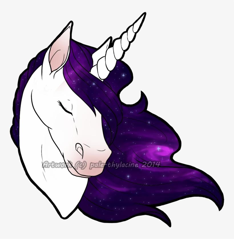Design Unicorn By Pale Galaxy Unicorn Drawing Free Transparent