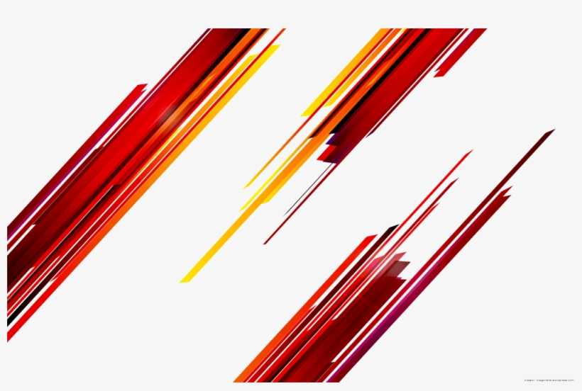 Abstract Rectangle Png - Abstract Lines Red Png, transparent png #946941