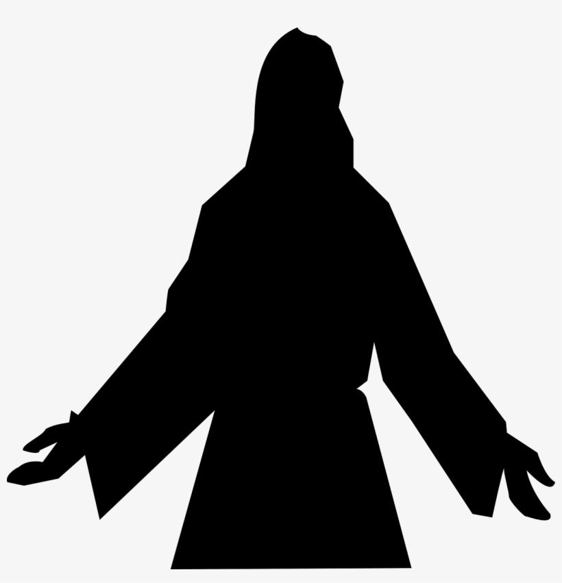 Nativity - Jesus Silhouette, transparent png #949415