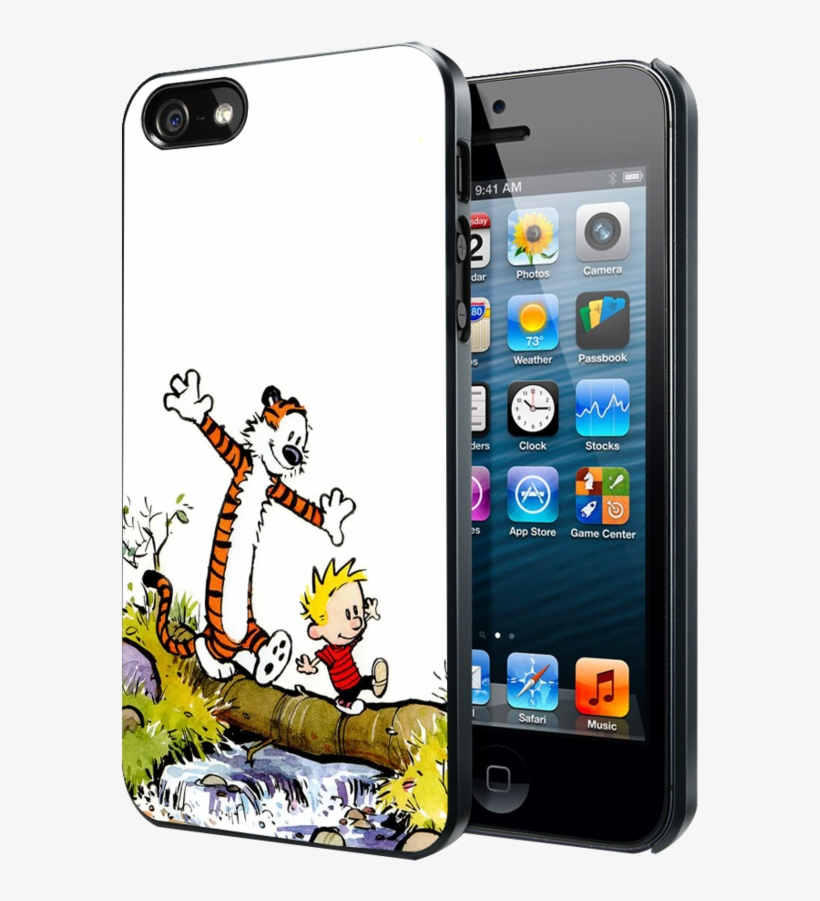 Calvin And Hobbes Samsung Galaxy S3 S4 S5 Note 3 Case, - Pokemon Eevee Iphone Cases, transparent png #9404425