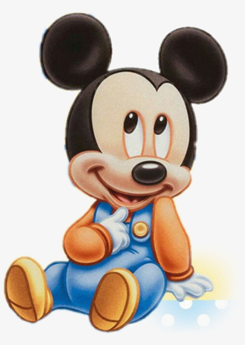 Baby Sticker Baby Mickey Mouse 1st Birthday Svg Free Transparent Png Download Pngkey